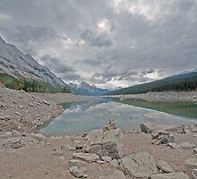 Maligne Lake  by Judy Grant