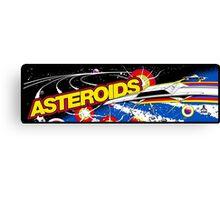 Asteroids Arcade Canvas Print