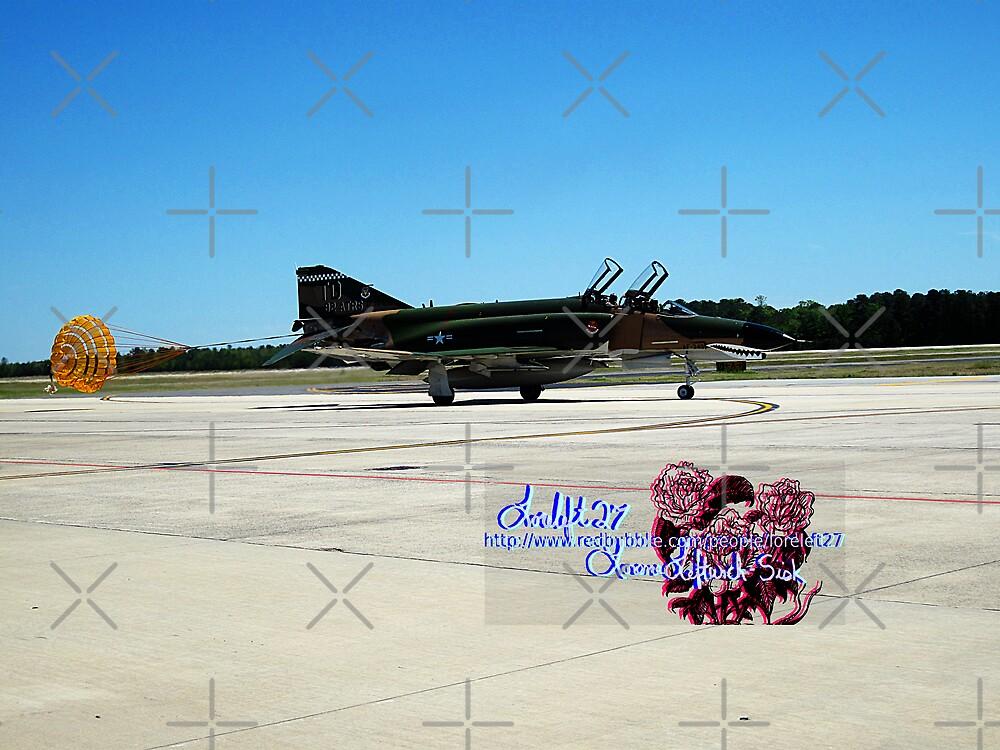 perfect landing  by LoreLeft27