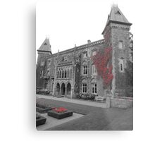Newton House in the Red (South Wales) Metal Print