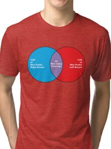 Mens Study Venn Diagram Tri-blend T-Shirt