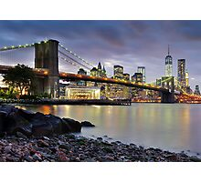 Sunset in Dumbo Photographic Print