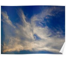 Late Evening sky Poster