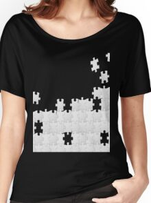 JUST A PUZZLE PIECE Women's Relaxed Fit T-Shirt