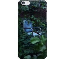 Abandoned Blue Chair iPhone Case/Skin