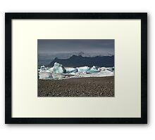 Iceberg Lake Framed Print