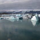 Ice lake by Jack Butcher