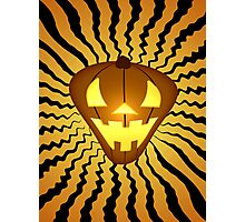 The Pumpkin that Knocks Photographic Print