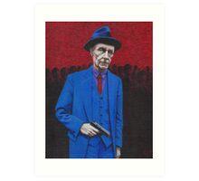 William S. Burroughs Art Print