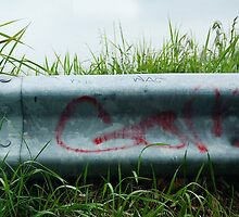Go Graffiti on Guardrail by DangRabbit