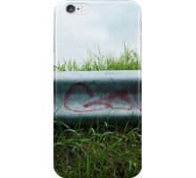 Go Graffiti on Guardrail iPhone Case/Skin