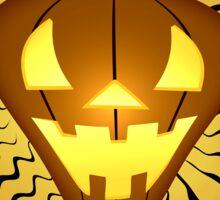 The Pumpkin that Knocks Sticker