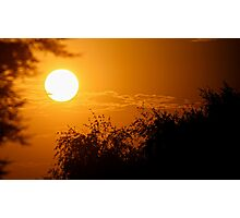 Bright Sunset Photographic Print