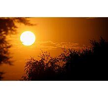 Bright Sunset Photographic Print