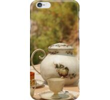 A Mad Tea Party - Alice In Wonderland Art iPhone Case/Skin