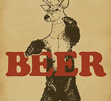 BEAR + DEER = BEER by Jerkass