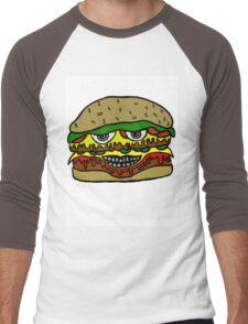 HIGH CHEESEBURGER Men's Baseball ¾ T-Shirt