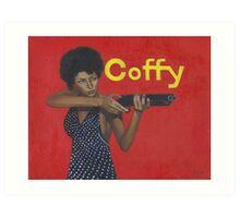 Pam Grier as 'Coffy' Art Print