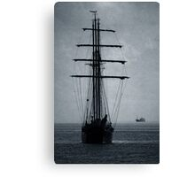 Tall Ship Becalmed Canvas Print