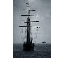 Tall Ship Becalmed Photographic Print