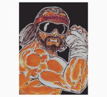 The Macho Man Randy Savage by Matt Molleur by Matt Molleur