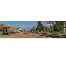 Hotham valley railway (pinjarra) Photographic Print