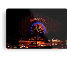 Paradise Pier Metal Print
