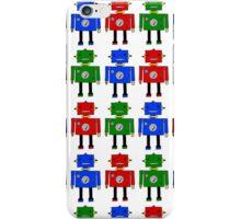 Robots (LARGE) iPhone Case/Skin