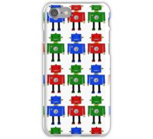 Robots (LARGE) iPhone Case/Skin
