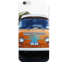 Orange VW Volkswagon Vanagon iPhone Case/Skin