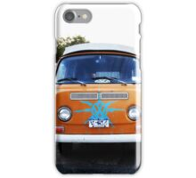 Orange VW Volkswagon Vanagon iPhone Case/Skin