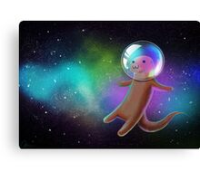 Otter Space Canvas Print