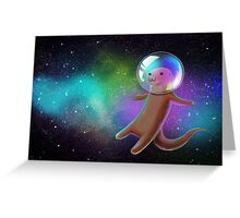 Otter Space Greeting Card