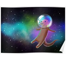 Otter Space Poster