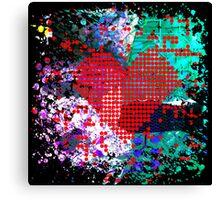 digital at its heart Canvas Print