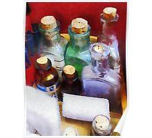 Doctors - Medicine Bottles and Bandages Poster