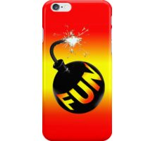 fun bomb iPhone Case/Skin