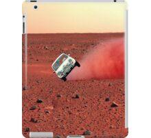 first wheelie on mars iPad Case/Skin