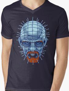 Breaking Bad Hellsenberg (Walter White / Pinhead Mashup) Mens V-Neck T-Shirt