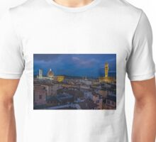 Night Time in Firenze Unisex T-Shirt