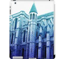 london church, in blue iPad Case/Skin
