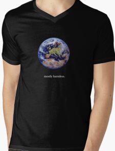 Earth: mostly harmless Mens V-Neck T-Shirt