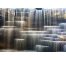 City Waterfall Photographic Print