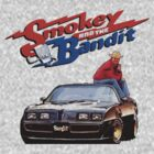 Smokey and the Bandit T-shirt by Nasherr