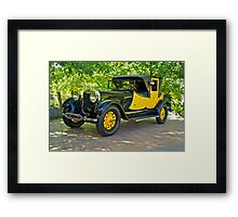 1927 Lincoln Coaching Brougham I Framed Print