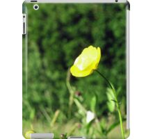 wild Butter cup iPad Case/Skin