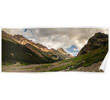 Len Shoemaker Ridge - Maroon Bells-Snowmass Wilderness, Colorado Poster