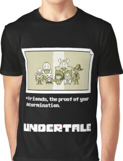 Undertale characters Graphic T-Shirt