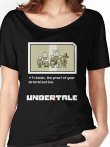 Undertale characters Women's Relaxed Fit T-Shirt