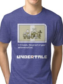 Undertale characters Tri-blend T-Shirt